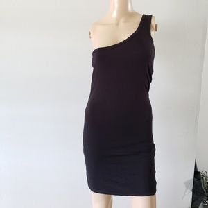Forever 21 one sleeve tank dress NWT